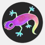 Electric Lizard! Round Sticker