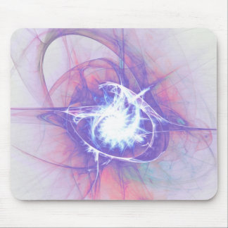 Electric Lotus Mouse Pad