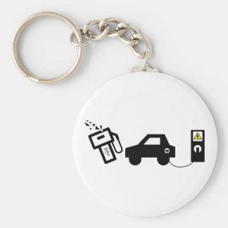 Electric Murder Key Ring