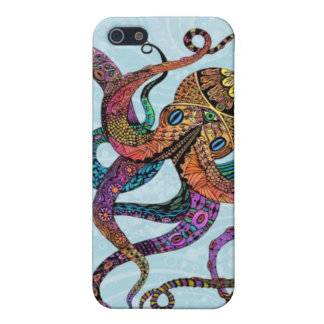 Electric Octopus Case Savvy iPhone 5 Case