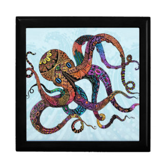 Electric Octopus Jewelry Box