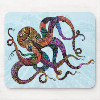 Electric Octopus Mousepad
