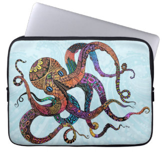 Electric Octopus Neoprene Laptop Sleeve