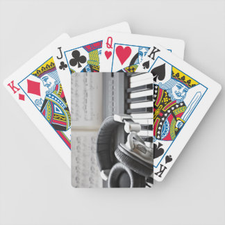 Electric Piano Keyboard Bicycle Playing Cards