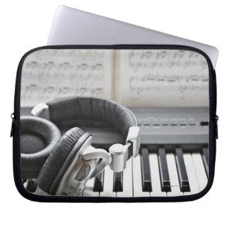 Electric Piano Keyboard Laptop Sleeve