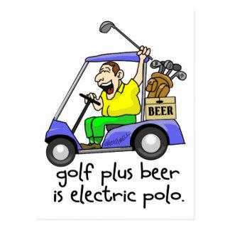 Electric Polo Postcard