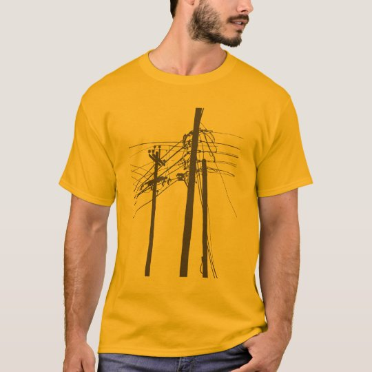 electric power lines T-Shirt