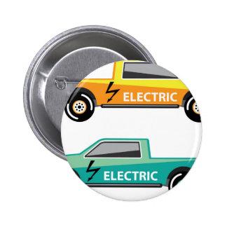 Electric power pickup 6 cm round badge