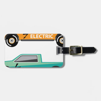 Electric power pickup tags for bags