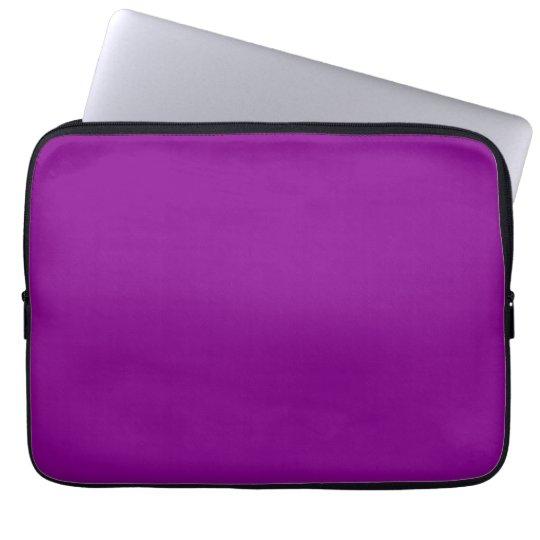 Electric Purple Personalised Trend Background Laptop Sleeve
