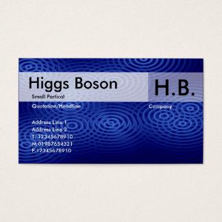 Electric Rain - Blue - Customized Business Card