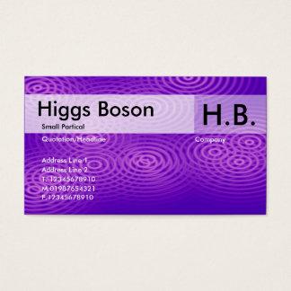 Electric Rain - Purple - Customized Business Card