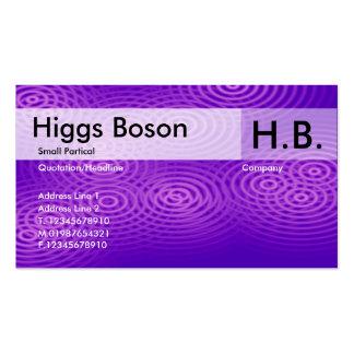 Electric Rain - Purple - Customized Business Card Templates