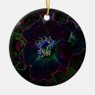 Electric Rose Christmas Christmas Ornament