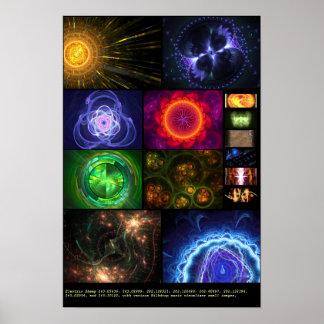 Electric Sheep + Milkdrop Various 11 Posters