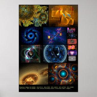 Electric Sheep + Milkdrop (Various #12) Poster