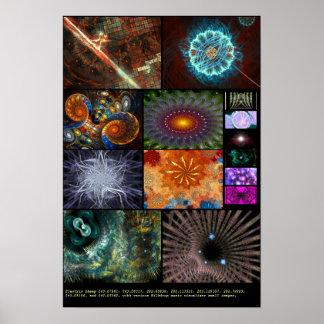 Electric Sheep + Milkdrop Various 7 Print