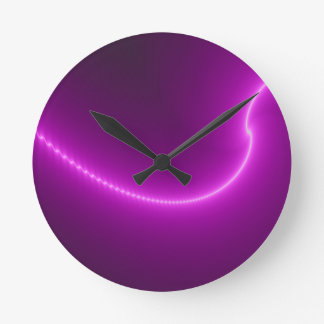 Electric Shock Fractal Wall Clock