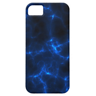 Electric Shock in Dark Blue iPhone 5 Cover