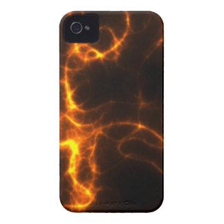 Electric Shock in Orange iPhone 4 Case-Mate Case