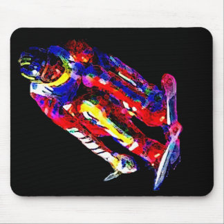 Electric Skier 03 Mouse Mat