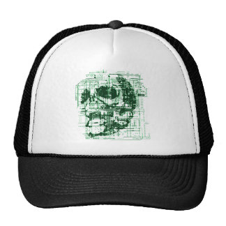Electric Skull Mesh Hat