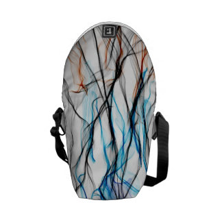 Electric Smoke Messenger Bag