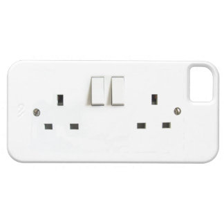 Electric socket from the UK Barely There iPhone 5 Case