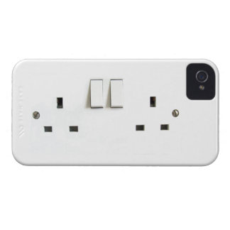 Electric socket from the UK iPhone 4 Case