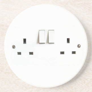 Electric socket from the UK Coaster