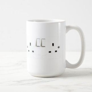 Electric socket from the UK Coffee Mug