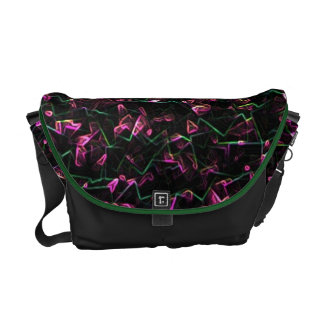 Electric Squiggles Commuter Bag