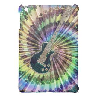 Electric Tie-Dye Guitar Music iPad Mini Case Cover For The iPad Mini