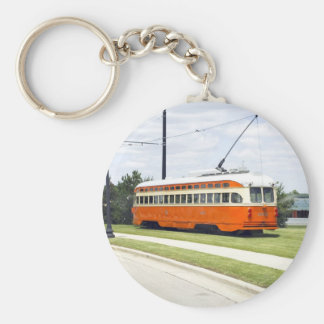 Electric Tram Keychain
