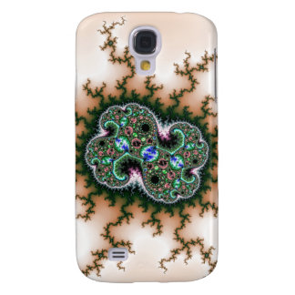 Electric Universe Fractal Pattern Galaxy S4 Case
