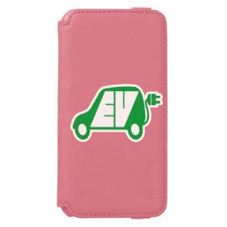 Electric Vehicle EV Icon Logo - Incipio Watson™ iPhone 6 Wallet Case