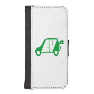 Electric Vehicle Green EV Icon Logo -