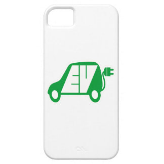 Electric Vehicle Green EV Icon Logo - Case For The iPhone 5