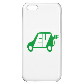 Electric Vehicle Green EV Icon Logo - iPhone 5C Covers