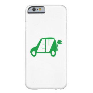 Electric Vehicle Green EV Icon Logo - iPhone Case