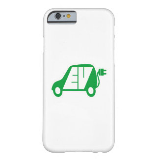 Electric Vehicle Green EV Icon Logo - iPhone Case Barely There iPhone 6 Case