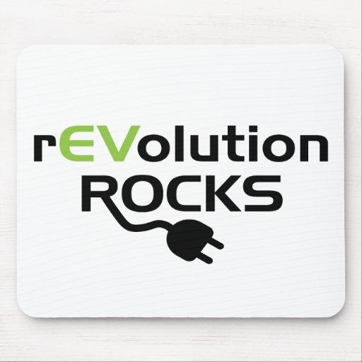 Electric Vehicles Rocks Mousepads
