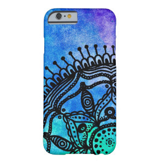 Electric Watercolor Mandala By Megaflora Barely There iPhone 6 Case