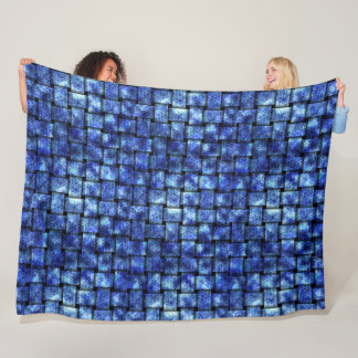 Electric Weave - Fleece Blanket