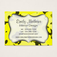 Camo business cards choice image business card template camouflage business cards business card printing zazzle uk standard sized business cards electric yellow camo camouflage colourmoves