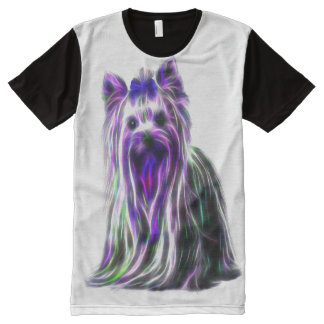 Electric Yorkie All-Over Print T-Shirt