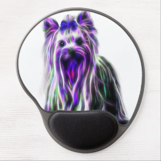 Electric Yorkie Gel Mouse Pad