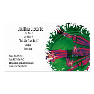 Electrical Business Card Template