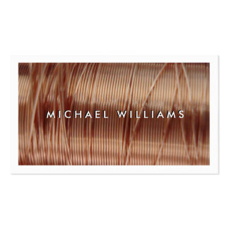 electrical copper thread pack of standard business cards