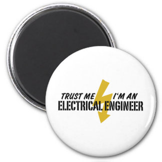 Electrical Engineer 6 Cm Round Magnet